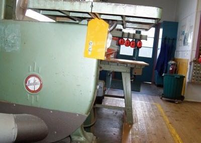 Bandsaw Lower Guard