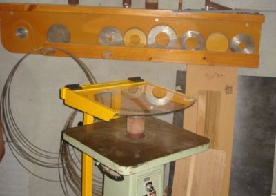 "Table Mounted ""Enclosure Style"" Mill Guard Installation"