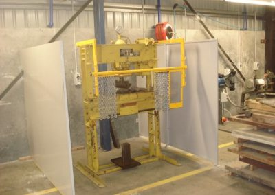 Chain Press Guillotine Guarding