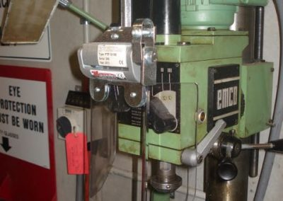 Drilling Machine Safety Installation