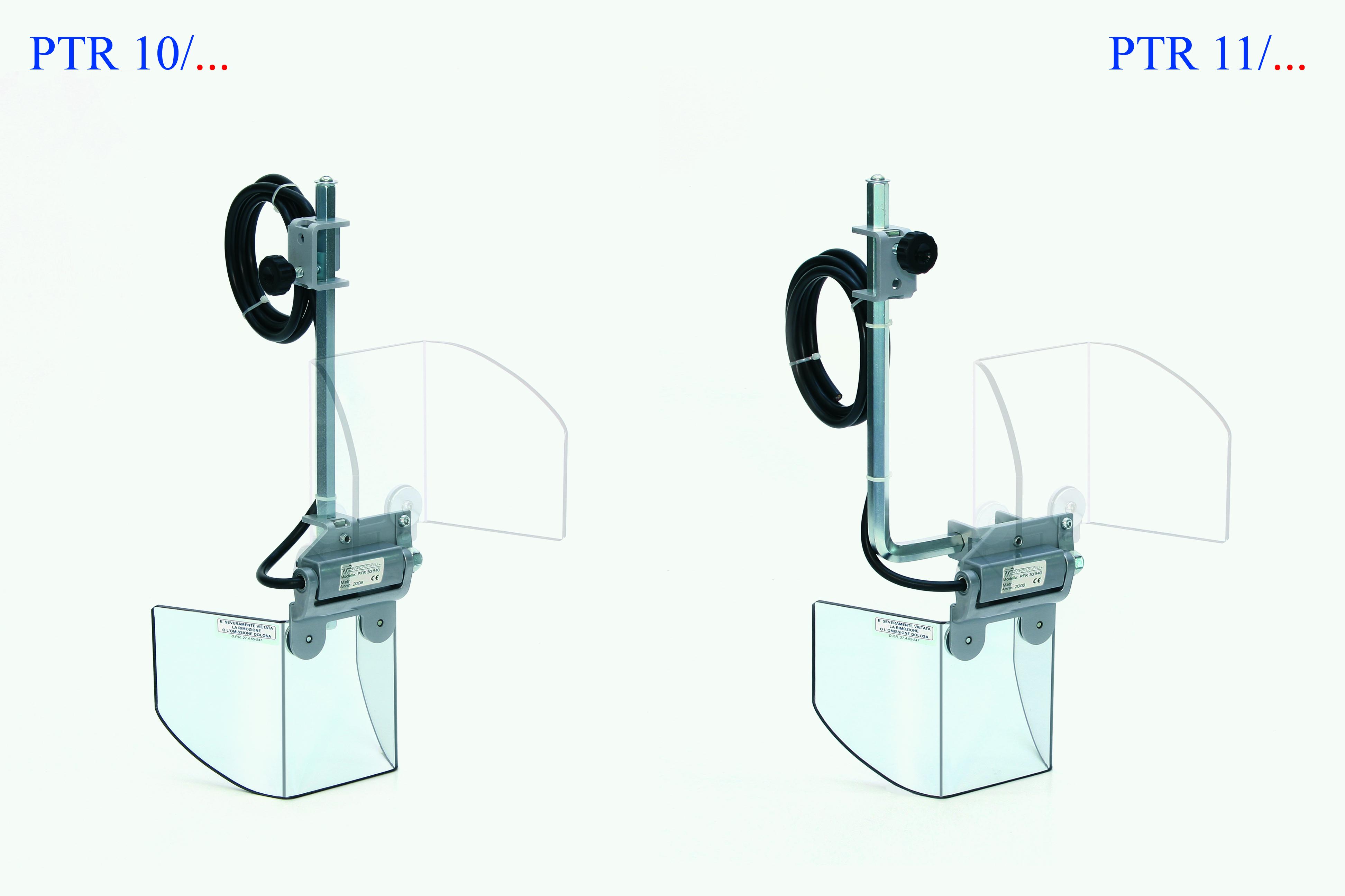 "Tecno Model PTR 10, PTR 11 & PFR 20 ""Flip Up"" Guards for Small Milling"