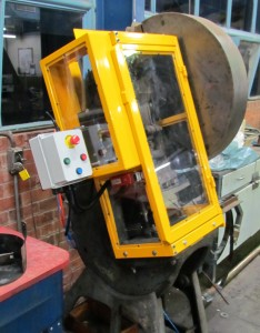 Hydraulic Press Custom Guarding