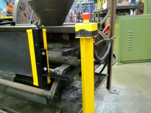 Lathe E-Stop Post