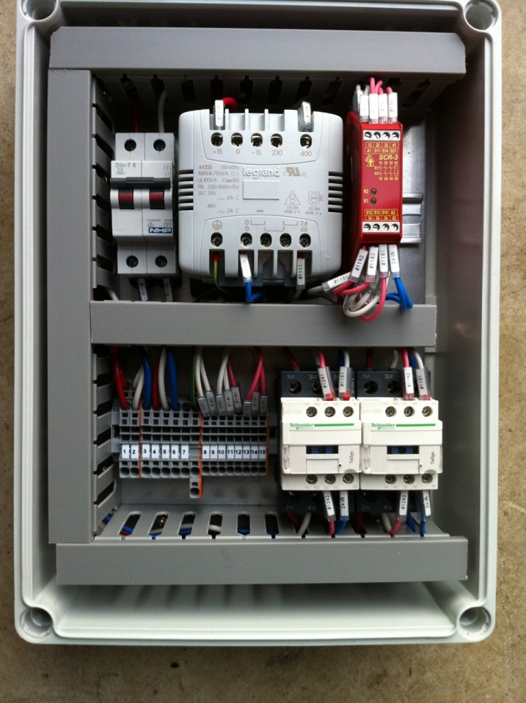 SafeInd Category 4 Control Box Open